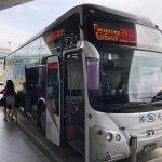 國光客運 1819路  台湾桃園国際空港から台北車站へ乗車記 チケットの買い方 バス乗り場等