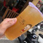 一芳 YI FANG 台湾水果茶 彰化站前店 パイナップルたっぷりのフルーツティー 金鑽鳳梨綠
