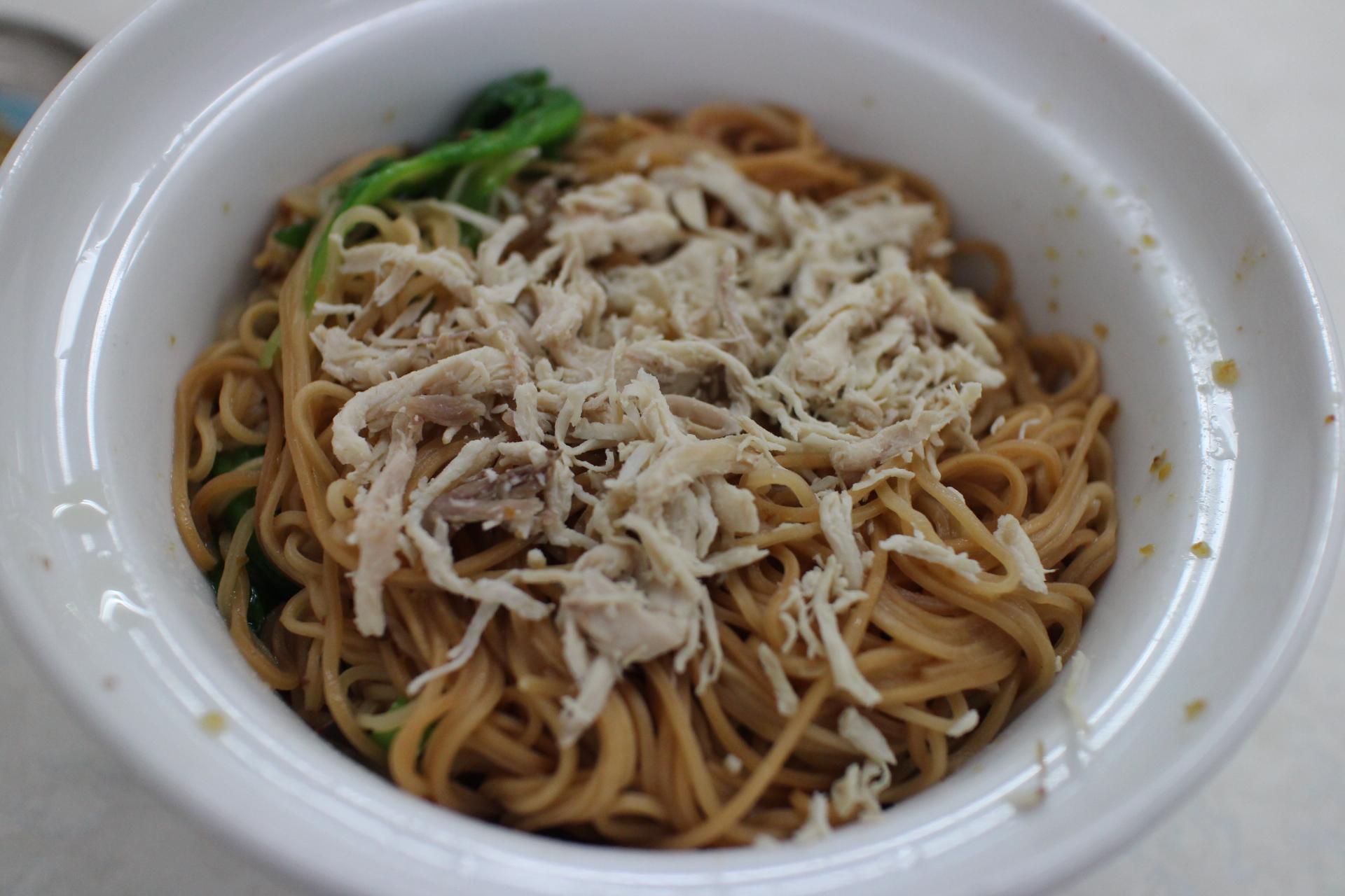阿財雞絲麺