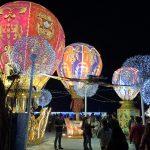 台湾ランタンフェスティバル2019 台灣燈會在屏東の大鵬灣燈區と東港燈區を見学