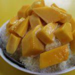 屏東市 來來涼冰果城 夏季限定マンゴーかき氷や甲仙冷凍芋などメニュー豊富な甘味処