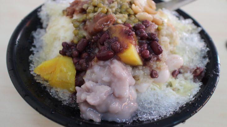 內埔尖美八寶冰 陽濟院老街の街歩き後に素朴な味わい!たっぷり八寶冰