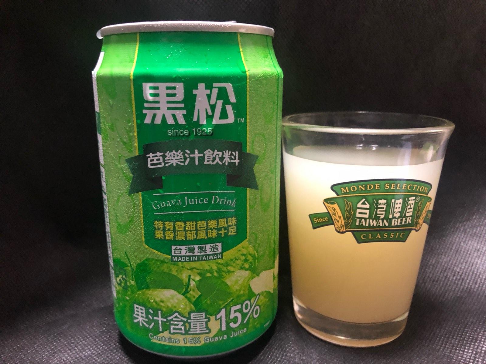 黒松芭樂汁飲料